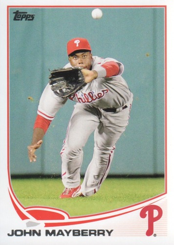 Photo of 2013 Topps #472 John Mayberry