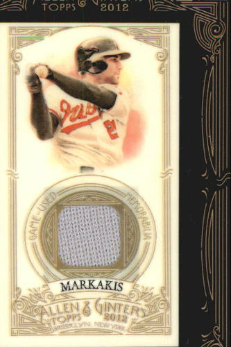 Photo of 2012 Topps Allen and Ginter Relics #NM Nick Markakis