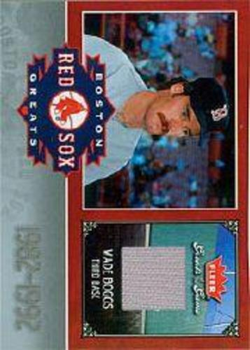 Photo of 2006 Greats of the Game Red Sox Greats Memorabilia #WB Wade Boggs Pants