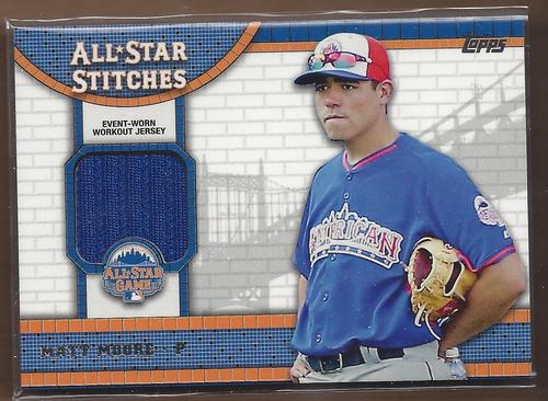 Photo of 2013 Topps Update All Star Stitches #MMO Matt Moore