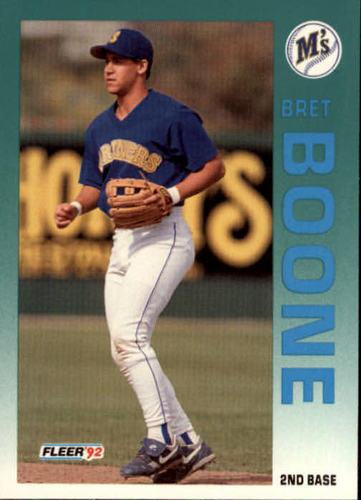 Photo of 1992 Fleer Update #54 Bret Boone