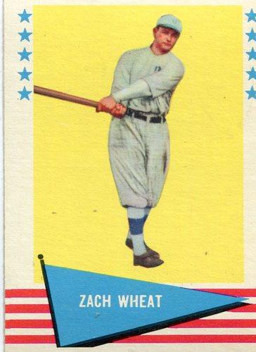 Photo of 1961 Fleer #86 Zack Wheat