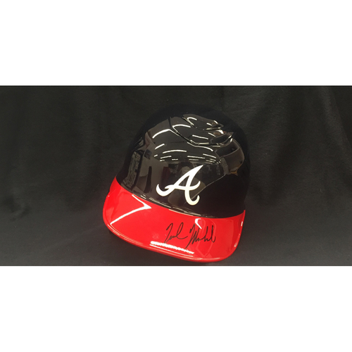 Photo of Braves Charity Auction - Nick Markakis Autographed Helmet