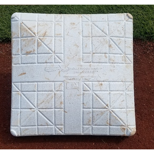 Photo of 2017 Game-Used 3rd Base: Rhys Hoskins HR #10