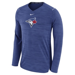 Toronto Blue Jays Authentic Collection Breathe Longsleeve T-Shirt by Nike