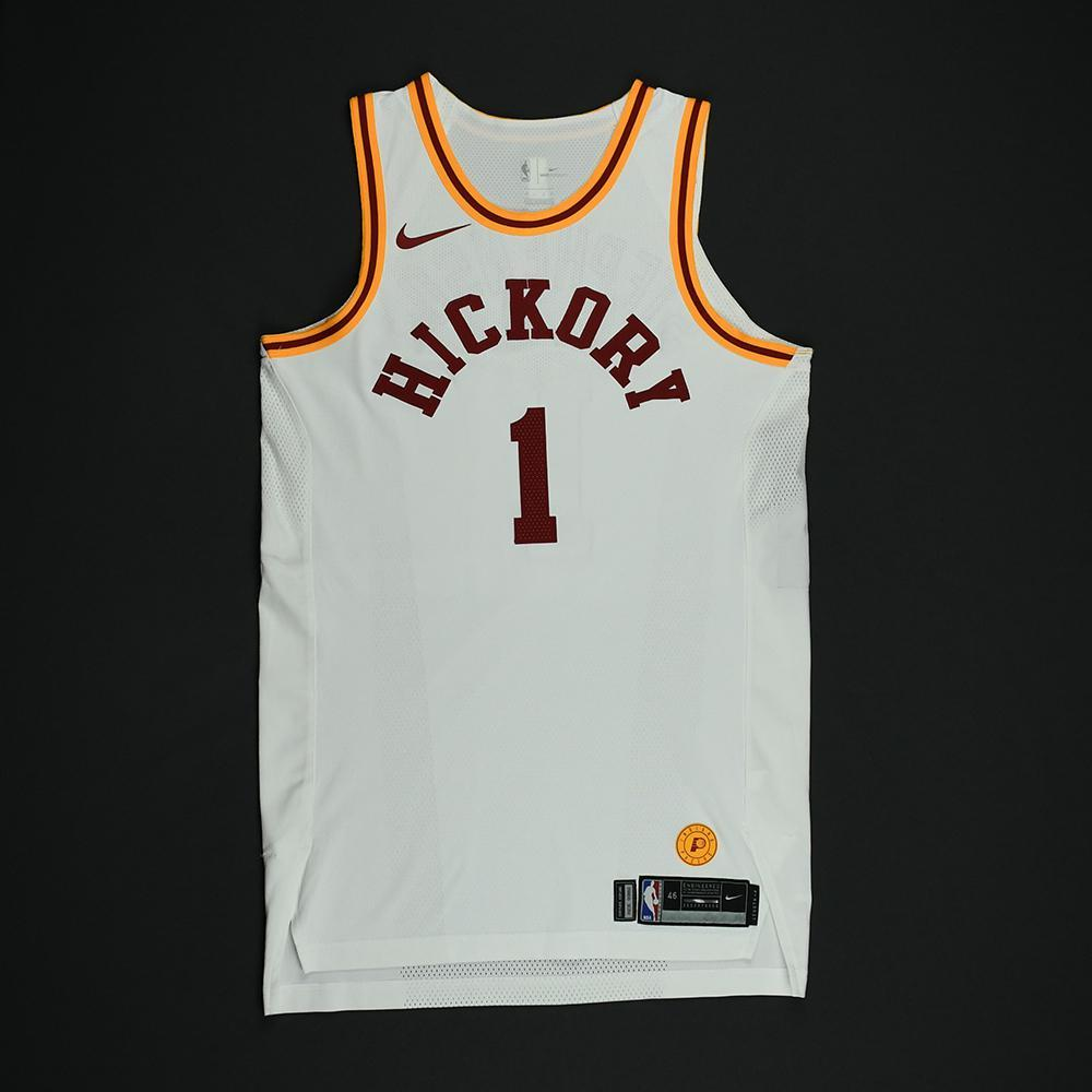 Lance Stephenson - Indiana Pacers - 1986 Hoosiers Movie - '1954-55 Hickory Road' Classic Edition Game-Worn Jersey