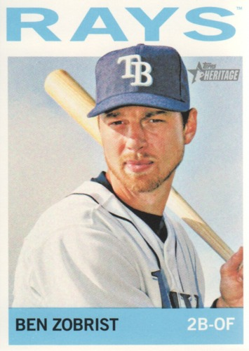 Photo of 2013 Topps Heritage #36 Ben Zobrist