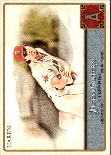 Photo of 2011 Topps Allen and Ginter #169 Dan Haren