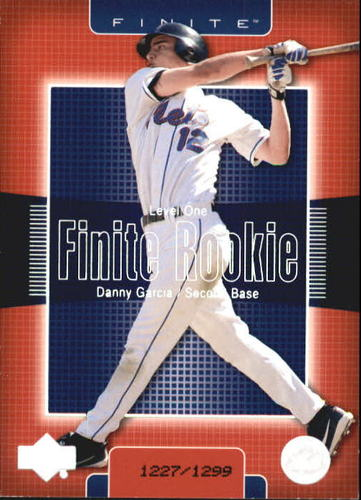 Photo of 2003 Upper Deck Finite #293 Danny Garcia T1 RC