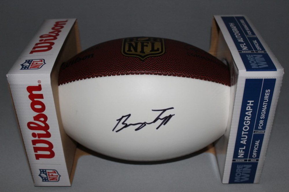 NFL - EAGLES BRYCE TREGGS SIGNED PANEL BALL