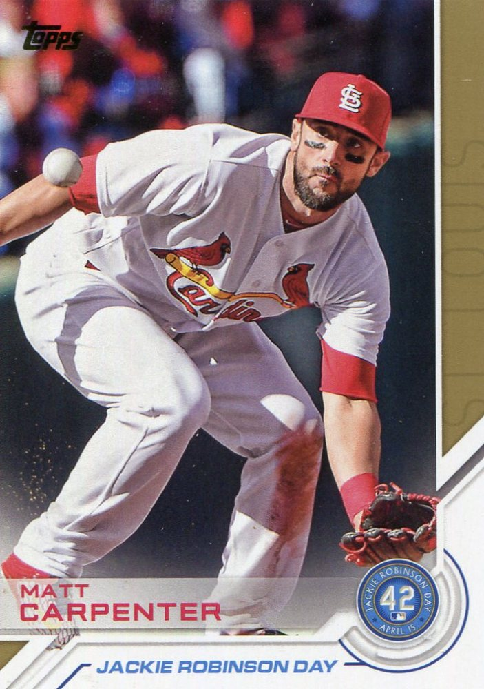 2017 Topps Jackie Robinson Day #JRD22 Matt Carpenter