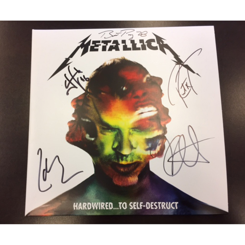 Giants Metallica Auction: Posey & Metallica Signed