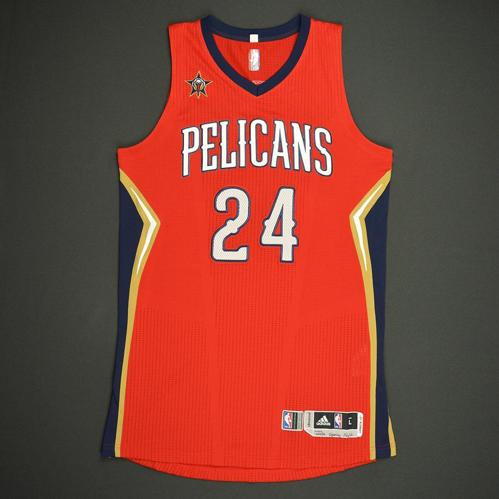 Buddy Hield - New Orleans Pelicans - Game-Worn Rookie Debut Jersey - 2016-17 Season