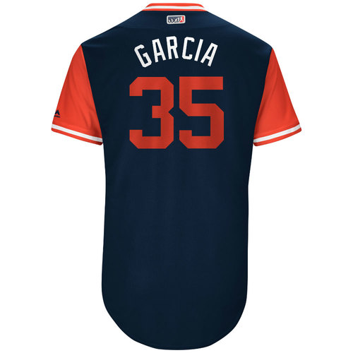 "Photo of Greg ""Garcia"" Garcia St. Louis Cardinals Game-Used Players Weekend Jersey"