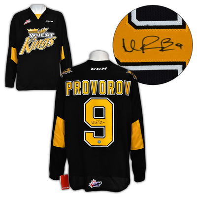 Ivan Provorov Brandon Wheat Kings Autographed CHL CCM Hockey Jersey