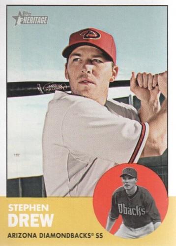 Photo of 2012 Topps Heritage #416 Stephen Drew