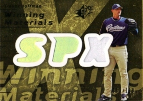 Photo of 2007 SPx Winning Materials 199 Gold #TH Trevor Hoffman/199