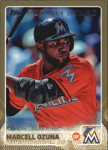 Photo of 2015 Topps Gold #370 Marcell Ozuna