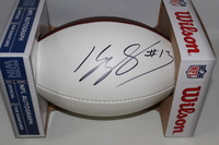 PANTHERS - KELVIN BENJAMIN SIGNED PANEL BALL