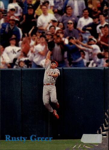 Photo of 1998 Stadium Club #7 Rusty Greer