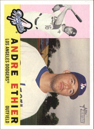 Photo of 2009 Topps Heritage #5 Andre Ethier