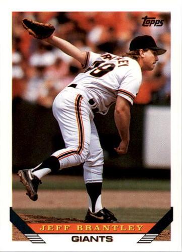 Photo of 1993 Topps #631 Jeff Brantley