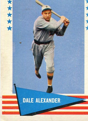 Photo of 1961 Fleer #91 Dale Alexander