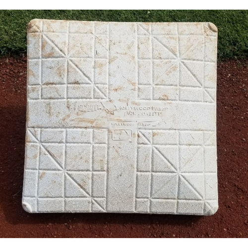 Photo of 2017 Game-Used 1st Base: Rhys Hoskins HR #11