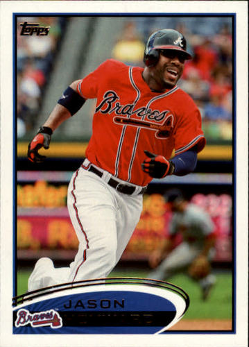 Photo of 2012 Topps #85A Jason Heyward
