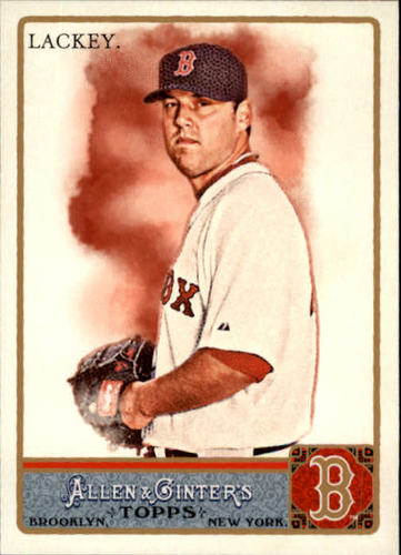 Photo of 2011 Topps Allen and Ginter #171 John Lackey