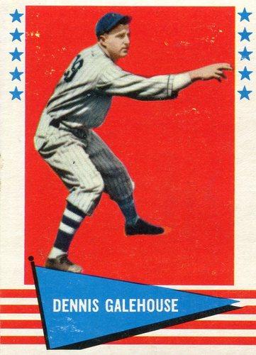 Photo of 1961 Fleer #107 Dennis Galehouse