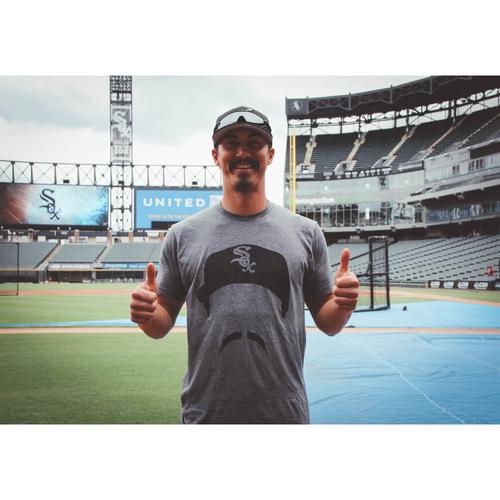 Photo of Tyler Saladino Mustache Limited Edition T-Shirt: Size Medium