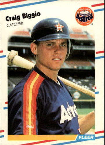 Photo of 1988 Fleer Update #89 Craig Biggio