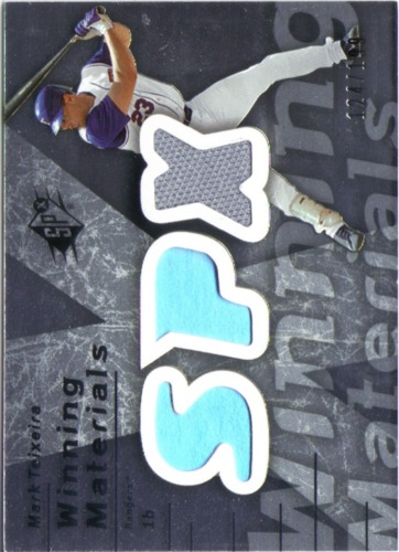 Photo of 2007 SPx Winning Materials 199 Silver #MT Mark Teixeira/199