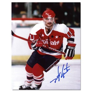 Mike Gartner Autographed Washington Capitals 8x10 Photo