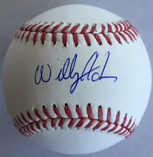Willy Adames Autographed Baseball