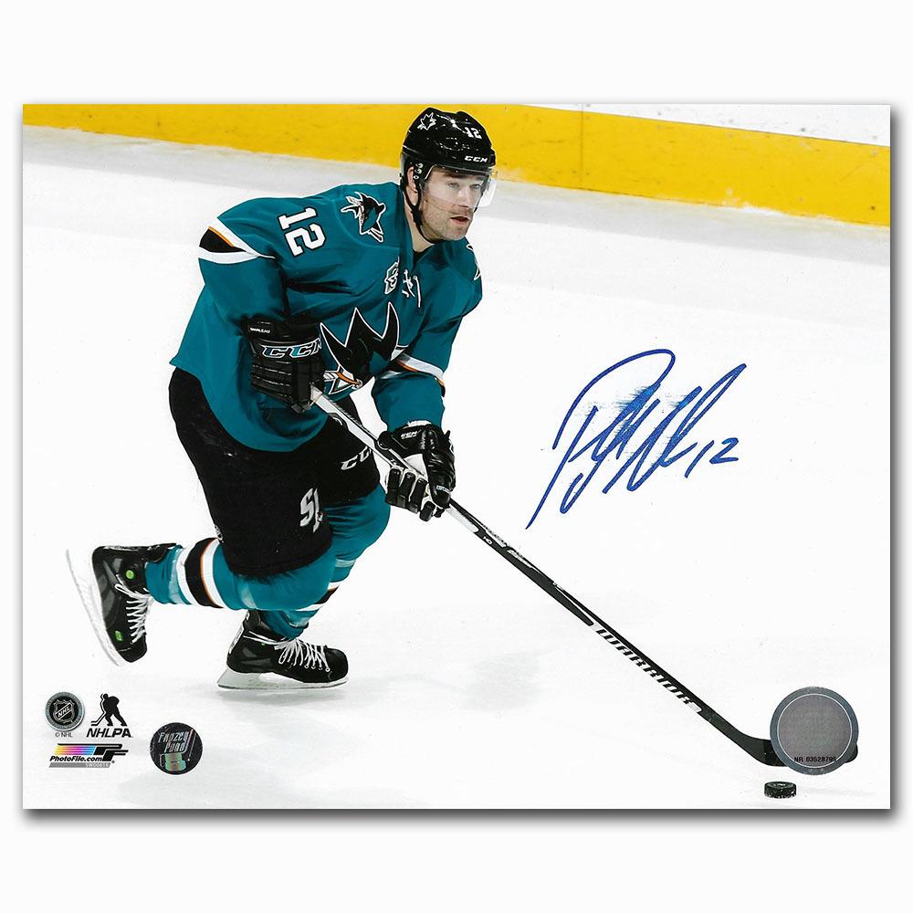 Patrick Marleau Autographed San Jose Sharks 8X10 Photo