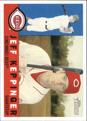 Photo of 2009 Topps Heritage #45 Jeff Keppinger