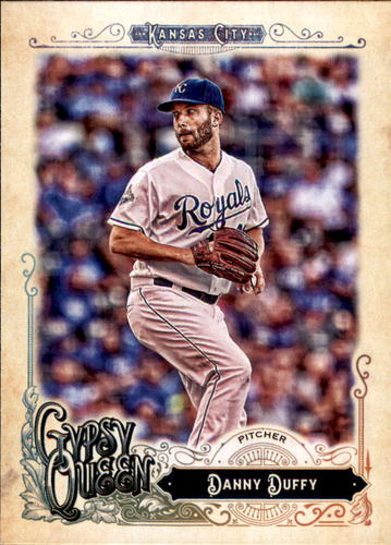 Photo of 2017 Topps Gypsy Queen #151 Danny Duffy