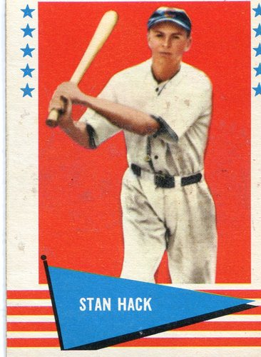 Photo of 1961 Fleer #110 Stan Hack