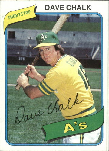 Photo of 1980 Topps #261 Dave Chalk