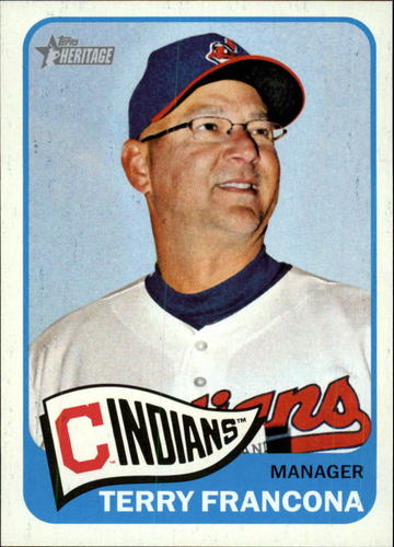 Photo of 2014 Topps Heritage #301 Terry Francona MG