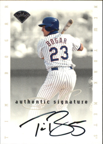 Photo of 1996 Leaf Signature Extended Autographs #10 Tim Bogar