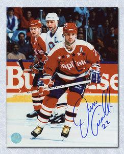 Dino Ciccarelli Washington Capitals Autographed Hockey 8x10 Photo