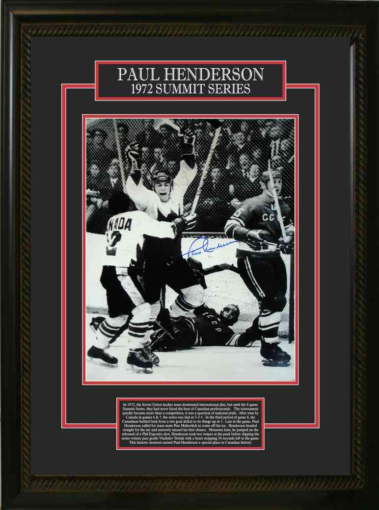 Paul Henderson Signed 16