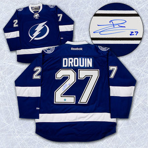 Jonathan Drouin Tampa Bay Lightning Autographed Reebok Premier Jersey