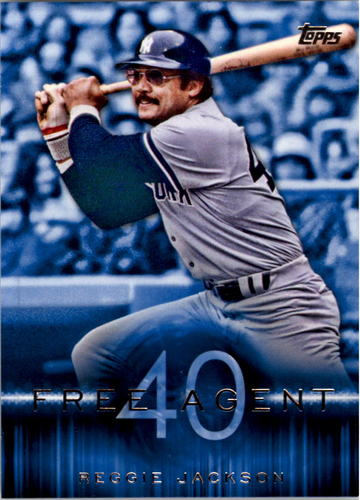 Photo of 2015 Topps Free Agent 40 #F4011 Reggie Jackson