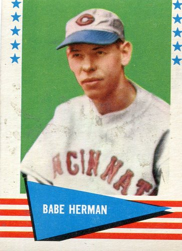 Photo of 1961 Fleer #114 Babe Herman