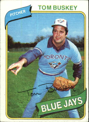 Photo of 1980 Topps #506 Tom Buskey
