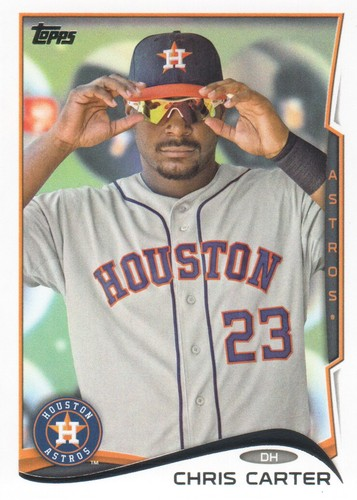 Photo of 2014 Topps #589 Chris Carter